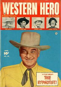 Cover Thumbnail for Western Hero (Fawcett, 1949 series) #89