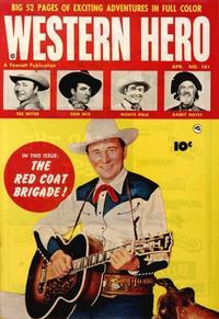 Cover Thumbnail for Western Hero (Fawcett, 1949 series) #101