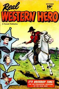 Cover Thumbnail for Real Western Hero (Fawcett, 1948 series) #70