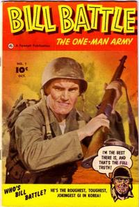 Cover Thumbnail for Bill Battle, the One Man Army (Fawcett, 1952 series) #1