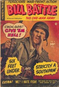 Cover Thumbnail for Bill Battle, the One Man Army (Fawcett, 1952 series) #2