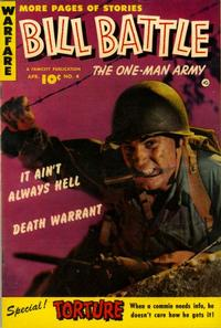 Cover Thumbnail for Bill Battle, the One Man Army (Fawcett, 1952 series) #4