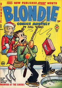 Cover Thumbnail for Blondie Comics Monthly (Harvey, 1950 series) #16
