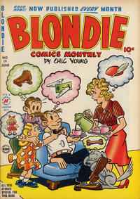 Cover Thumbnail for Blondie Comics Monthly (Harvey, 1950 series) #19