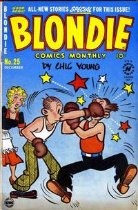Cover Thumbnail for Blondie Comics Monthly (Harvey, 1950 series) #25