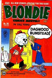 Cover Thumbnail for Blondie Comics Monthly (Harvey, 1950 series) #26