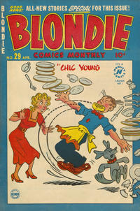 Cover Thumbnail for Blondie Comics Monthly (Harvey, 1950 series) #29