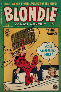 Cover Thumbnail for Blondie Comics Monthly (Harvey, 1950 series) #31
