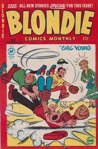Cover Thumbnail for Blondie Comics Monthly (Harvey, 1950 series) #33