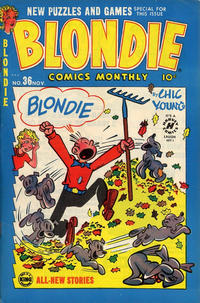 Cover Thumbnail for Blondie Comics Monthly (Harvey, 1950 series) #36