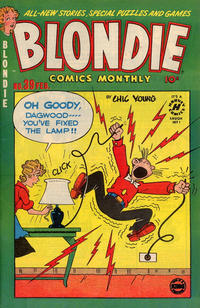Cover Thumbnail for Blondie Comics Monthly (Harvey, 1950 series) #39