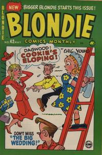 Cover Thumbnail for Blondie Comics Monthly (Harvey, 1950 series) #42