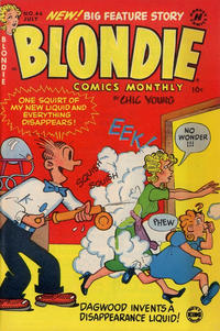 Cover Thumbnail for Blondie Comics Monthly (Harvey, 1950 series) #44