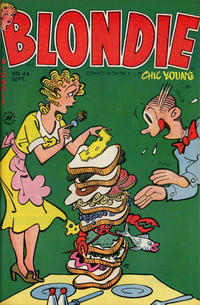 Cover Thumbnail for Blondie Comics Monthly (Harvey, 1950 series) #46