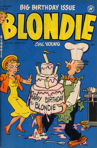 Cover Thumbnail for Blondie Comics Monthly (Harvey, 1950 series) #50