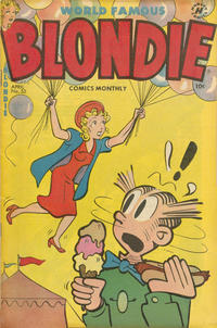 Cover Thumbnail for Blondie Comics Monthly (Harvey, 1950 series) #53