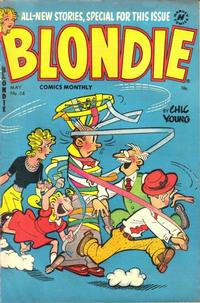 Cover Thumbnail for Blondie Comics Monthly (Harvey, 1950 series) #54