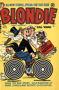 Cover Thumbnail for Blondie Comics Monthly (Harvey, 1950 series) #55