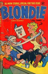 Cover Thumbnail for Blondie Comics Monthly (Harvey, 1950 series) #56