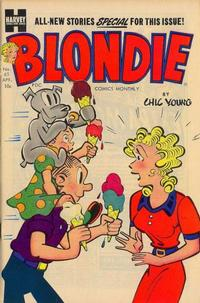 Cover Thumbnail for Blondie Comics Monthly (Harvey, 1950 series) #65
