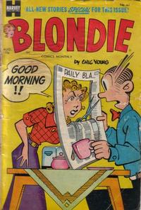 Cover Thumbnail for Blondie Comics Monthly (Harvey, 1950 series) #69