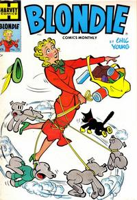 Cover Thumbnail for Blondie Comics Monthly (Harvey, 1950 series) #75