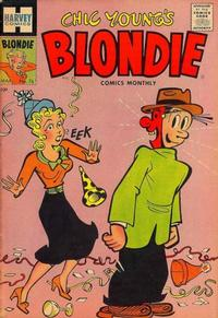 Cover Thumbnail for Blondie Comics Monthly (Harvey, 1950 series) #76