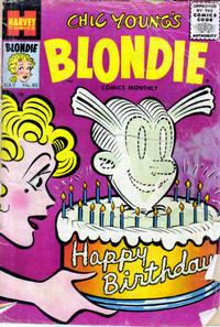 Cover Thumbnail for Blondie Comics Monthly (Harvey, 1950 series) #80