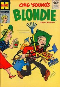 Cover Thumbnail for Blondie Comics Monthly (Harvey, 1950 series) #93