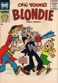 Cover Thumbnail for Blondie Comics Monthly (Harvey, 1950 series) #97