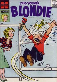 Cover Thumbnail for Blondie Comics Monthly (Harvey, 1950 series) #98