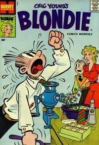 Cover Thumbnail for Blondie Comics Monthly (Harvey, 1950 series) #101