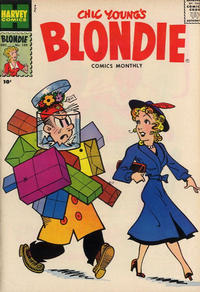 Cover Thumbnail for Blondie Comics Monthly (Harvey, 1950 series) #109
