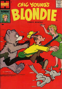 Cover Thumbnail for Blondie Comics Monthly (Harvey, 1950 series) #112
