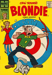 Cover Thumbnail for Blondie Comics Monthly (Harvey, 1950 series) #113