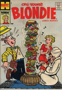 Cover Thumbnail for Blondie Comics Monthly (Harvey, 1950 series) #115