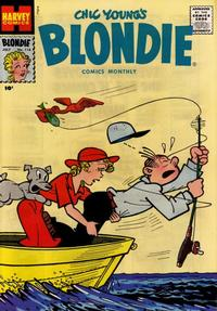 Cover Thumbnail for Blondie Comics Monthly (Harvey, 1950 series) #116