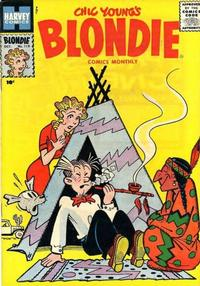 Cover Thumbnail for Blondie Comics Monthly (Harvey, 1950 series) #119