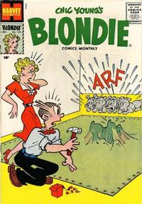 Cover Thumbnail for Blondie Comics Monthly (Harvey, 1950 series) #120