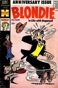 Cover Thumbnail for Blondie Comics Monthly (Harvey, 1950 series) #125