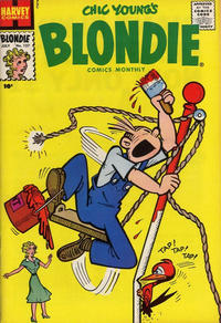 Cover Thumbnail for Blondie Comics Monthly (Harvey, 1950 series) #127