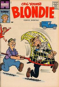 Cover Thumbnail for Blondie Comics Monthly (Harvey, 1950 series) #128