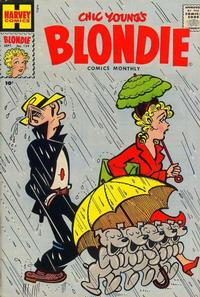 Cover Thumbnail for Blondie Comics Monthly (Harvey, 1950 series) #129