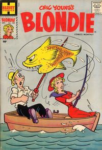Cover Thumbnail for Blondie Comics Monthly (Harvey, 1950 series) #132