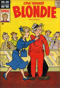 Cover Thumbnail for Blondie Comics Monthly (Harvey, 1950 series) #133