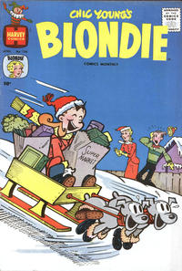 Cover Thumbnail for Blondie Comics Monthly (Harvey, 1950 series) #136