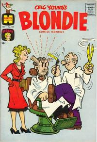 Cover Thumbnail for Blondie Comics Monthly (Harvey, 1950 series) #139