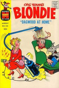 Cover Thumbnail for Blondie Comics Monthly (Harvey, 1950 series) #140