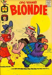 Cover Thumbnail for Blondie Comics Monthly (Harvey, 1950 series) #141
