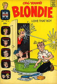Cover Thumbnail for Blondie (Harvey, 1960 series) #158